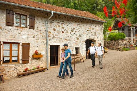 Walking through little villages