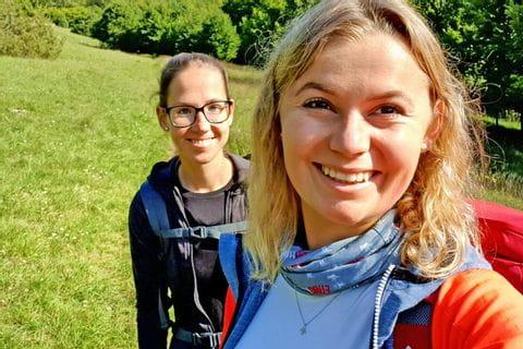 Wanderfreunde am Altmühltal Panoramaweg