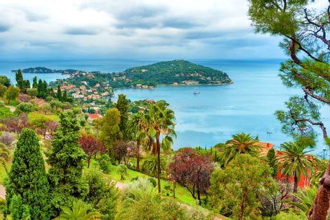 Küste der Côte d'Azur