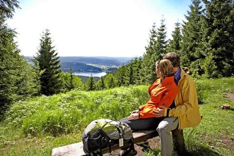 Zauberhafter Ausblick im Thüringer Wald