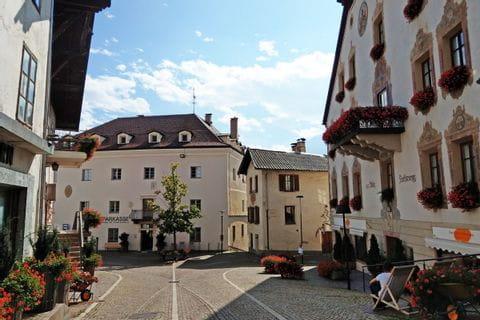 Ortszentrum im Vinschgau