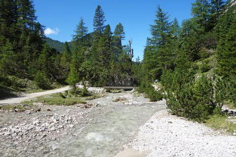 Impressionen Flussbett