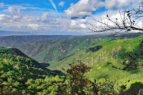 Enjoying the wonderful landscape of Catalonia on the hiking tour