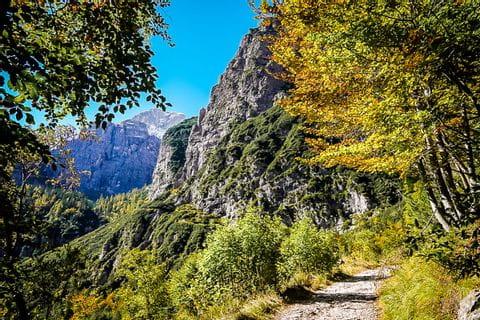Eindrücke vom goldenen Herbst in Südtirol