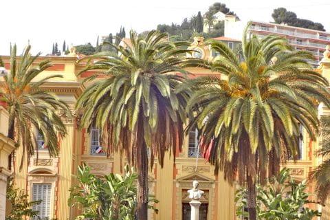 Palmen inmitten der Wanderetappenorte