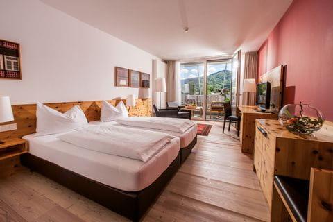 Doppelzimmer in der Villa Seilern