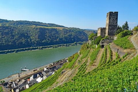 Castles on the hiking tour Rheinsteig