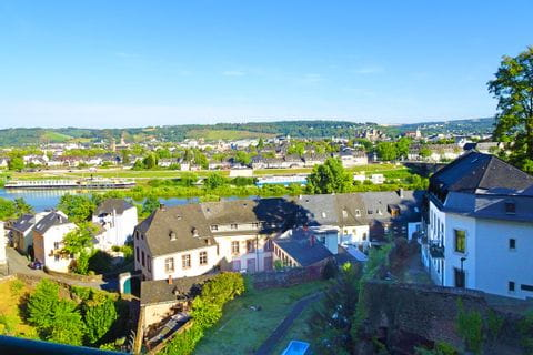 Beautiful panoramic view of Trier