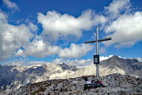 Gipfelkreuz auf dem Tirolerweg