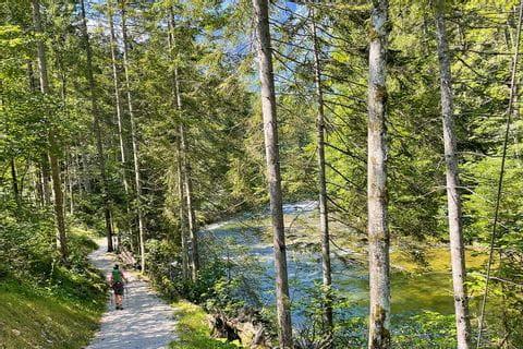 Wanderweg entlang der Koppentraun