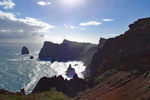 Superb mountain landscapes at Madeiras east coast