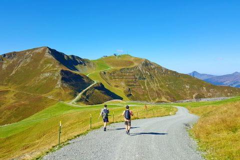 Wanderer im Pinzgau