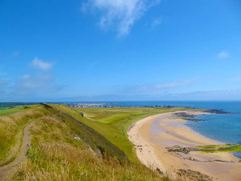 Wanderpanorama am Fife Coastal Path