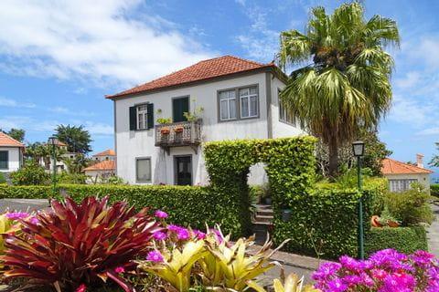 Blooming gardens on Madeira island