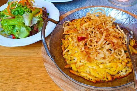 Käsespätzle in Pappenheim