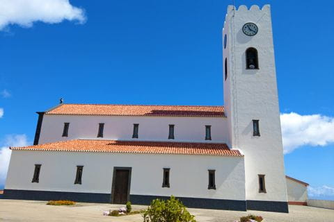 Portuguese church on walkers island Madeira