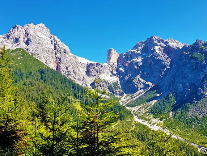 Bergpanorama in den Salzburger Gipfel & Kitzbüheler Alpen