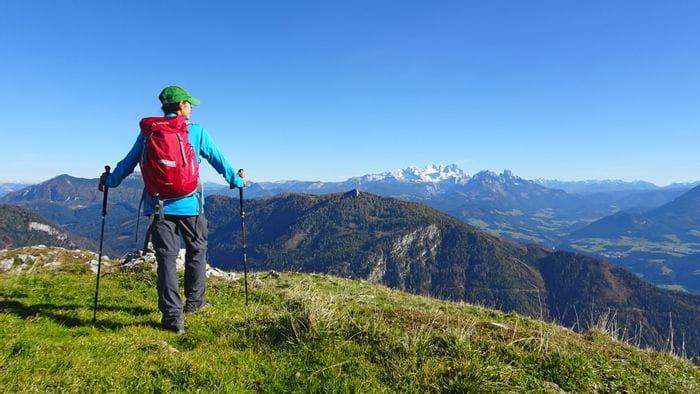 Bergpanorama beim Almwandern