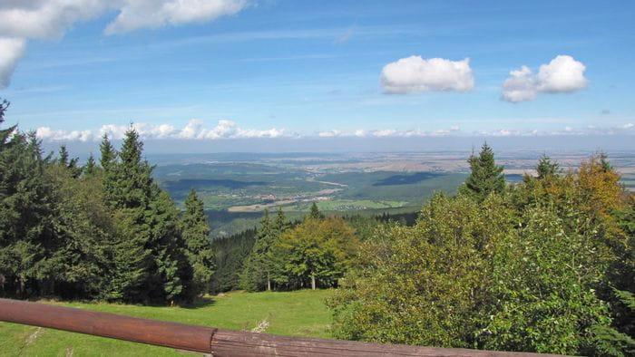 Panoramablick am Rennsteig