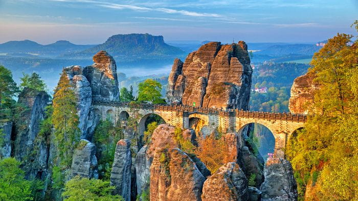 Malerweg in Mitteldeutschland