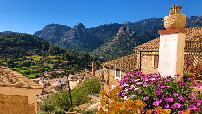Ort Bunyola auf Mallorca