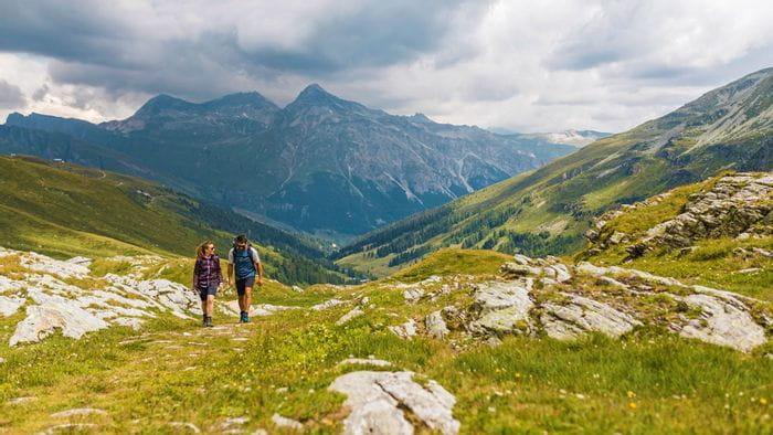 Bergwelt entlang der Via Spulga
