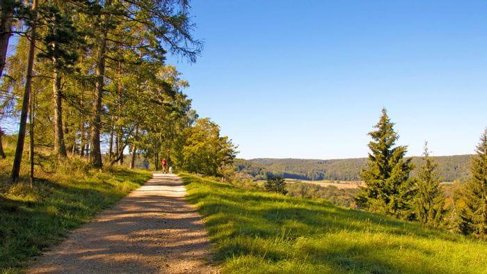 Altmühltal Panoramaweg in Bayern
