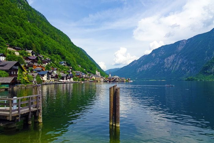 Fantastic view of Lake Hallstatt